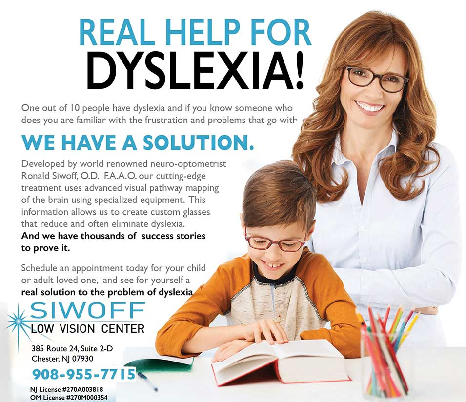 Eye Problems Not Linked To Dyslexia >> Dyslexia Other Learning Disabilities Siwoff Low Vision Center